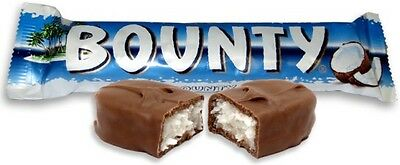 Full Box Bounty Milk Chocolate  24 X 57g  Non PM Bar Free Tracked Delivery • 13.99£