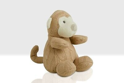 £14.50 • Buy Knitted Baby Monkey Teddy, Chunky Monkey Soft Toy By Beehive Toys