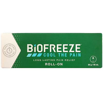 £25.47 • Buy Biofreeze Pain Relieving Roll On 89 Ml Cryotherapy The Cold Method