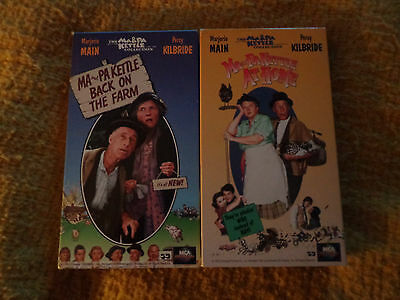 $9 • Buy Ma And Pa Kettle VHS/2 Tapes