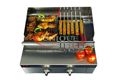 2 Burner Gas Charcoal Bbq Grill / Char-grill Heavy Duty For Commercial Use • 359£