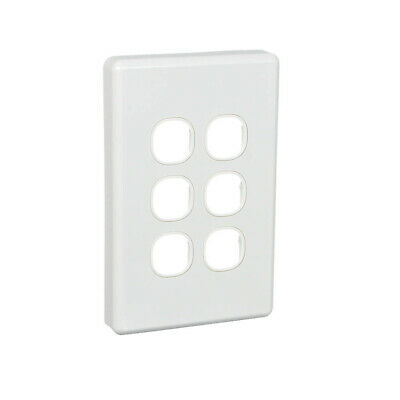 AU8.78 • Buy Clipsal By Schneider Electric  Clipsal C2036VH | 6 Gang Grid And Surround (Class