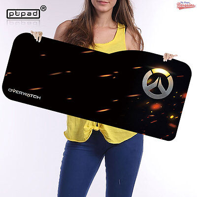 AU45.06 • Buy Large Gaming Mouse Pad 730 X 330mm Overwatch And Gamer Designs Speed Surface Mat