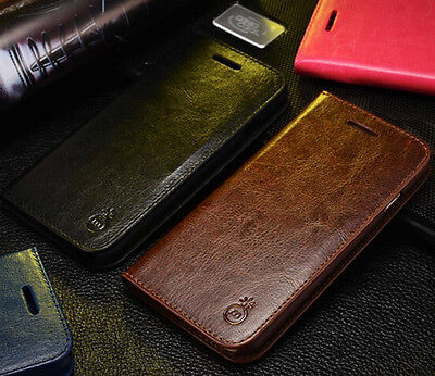 AU15.38 • Buy  IPhone 7 Case Luxury Leather Wallet Card Holder Stand Flip Case Cover 7 Plus