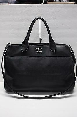 8a679046bf843e CHANEL Caviar Leather Large Executive Cerf Tote Satchel Bag Shopper Travel  Bag • 2,650.00$