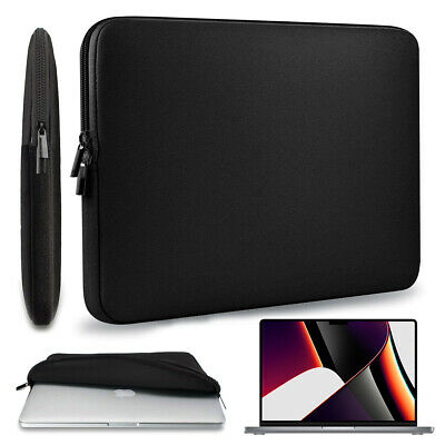 AU18.99 • Buy Black Soft-Touch 13-inch Sleeve Case Cover For MacBook Pro 13.3  MacBook Air 13