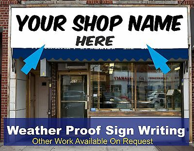 Shop Front Fascia Vinyl Graphic Signs Name Decals Sign Writing  Size 2m X 0.6m  • 67.50£