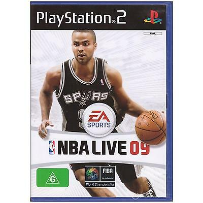 AU15 • Buy Playstation 2 Nba Live 09 Pal Ps2 [uvg] 2009 Your Games Pal