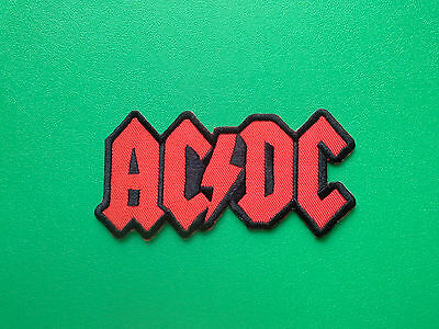 £3.49 • Buy ACDC AC/DC Patch Punk Rock Heavy Metal Pop Music Sew/Iron On Badge