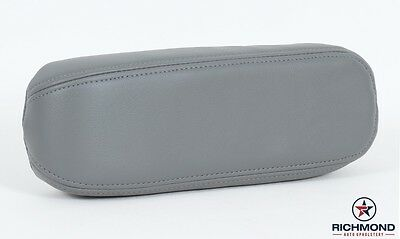 $54 • Buy 05-07 Ford F250 Lariat CREW -Driver Side Replacement Leather Armrest Cover GRAY-