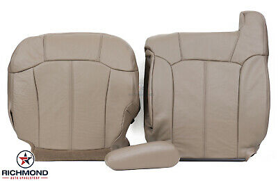 $575 • Buy 2000 GMC Sierra SLT -Driver Side COMPLETE Replacement Leather Seat Covers Tan-