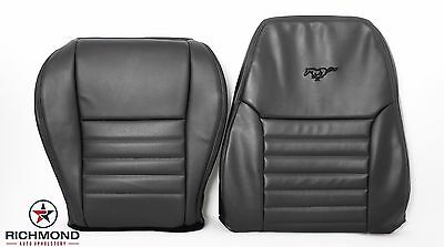 $377.16 • Buy 99-04 Ford Mustang GT -Complete Driver Side Perforated Leather Seat Covers BLACK