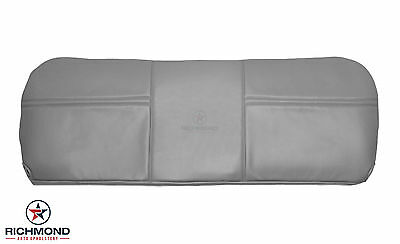 $198 • Buy 2005 Ford F250 F350 XL Work Truck-Bottom Bench Seat Replacement Vinyl Cover Gray