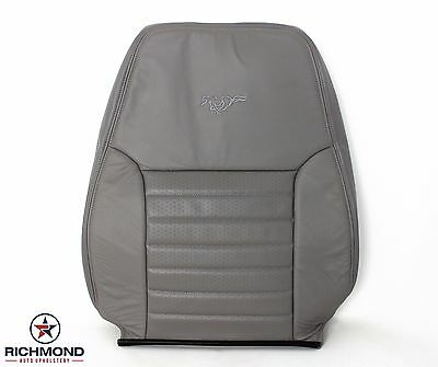 $226.76 • Buy 2004 Ford Mustang GT -Driver Side LEAN BACK Perforated Leather Seat Cover Gray