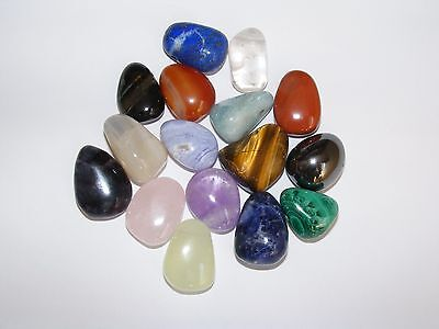 Drilled Tumblestones Choose Your Stone Crystal Pendants • 3.95£