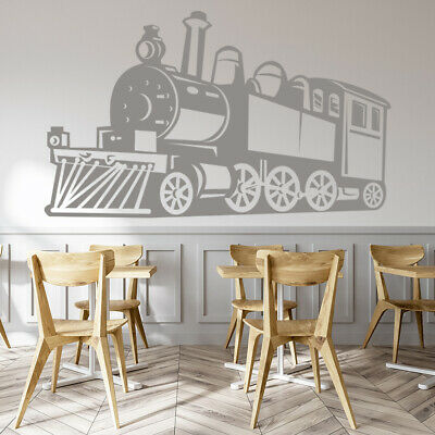 Steam Train Childrens Wall Sticker WS-19069 • 16.99£