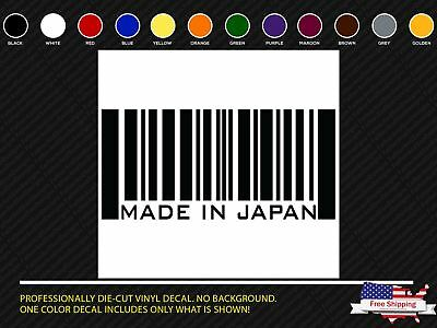 $3 • Buy Made In Japan Sticker JDM Slammed Stance Funny Drift Lowered Car Window Decal