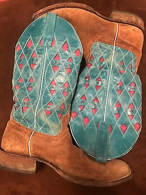 $200 • Buy Macie Bean Western Boots Square Toe Womens Size 10