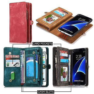 AU21.99 • Buy Luxury Magnetic Leather Detachable Wallet Card Case Cover For IPhone 6s 7 7 Plus