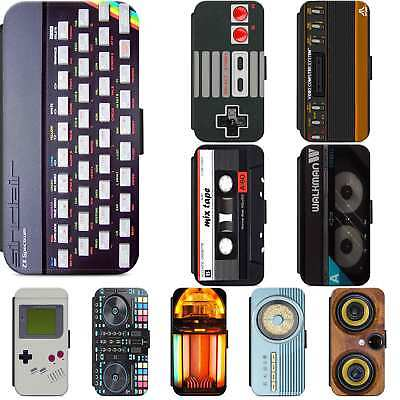 $ CDN11.47 • Buy Retro Gadget Electronics Flip Phone Case Wallet Cover IPhone Samsung Geeky Geek