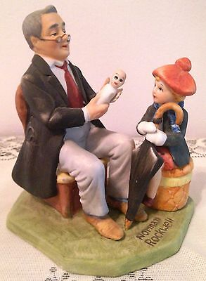 $39.99 • Buy 1980 Limited Ed. Norman Rockwell - Doctor And The Doll