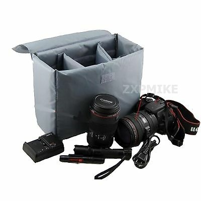 Partition Padded Insert Protection Camera Case For CANON 1000D 650D 6D 550D 600D • 15.99£