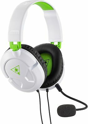 $29.95 • Buy Turtle Beach Recon 50X White Stereo Gaming Headset Headphones Xbox One Refurb...