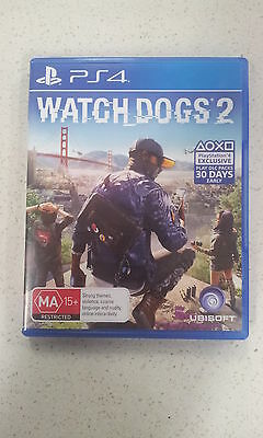 AU49.99 • Buy Watch Dogs Watch_Dogs 2 PS4 Game (NEW)