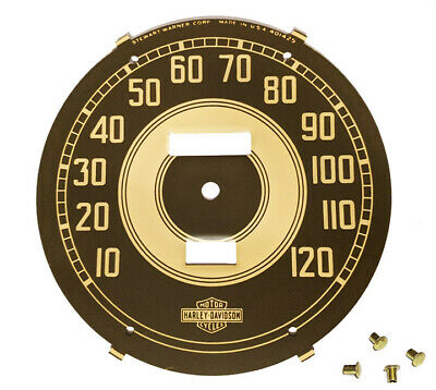 $78 • Buy OEM Speedometer  OD  Military FACE For WW2 Harley Knuckle UL 45 Solo WLA WLC