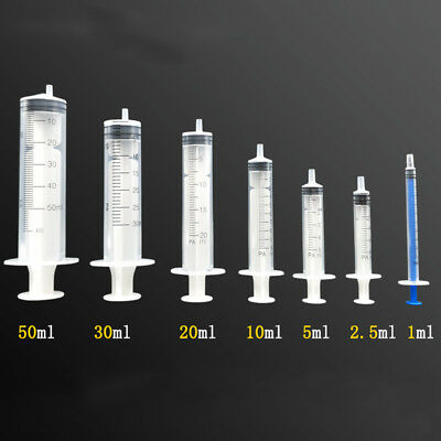 $ CDN7.12 • Buy 1-150ml Various Volume Plastic Hydroponics Disposable Measuring Nutrient Syringe