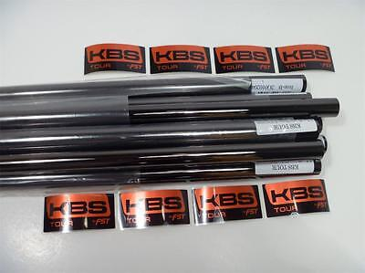 AU180.27 • Buy New Kbs Tour  Black Nickel X-stiff Flex Iron Shafts 4-pw .355 Taper Tip Set