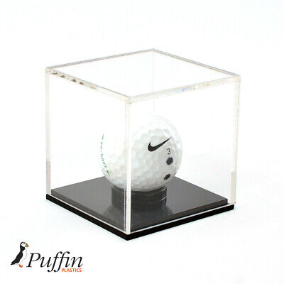 Golf Ball Display Case With Black Base • 13.29£