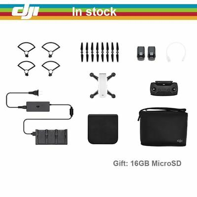 AU1170 • Buy In Stock ! DJI Spark Fly More Combo Drone 1080P HD Camera Drones ( Gift: 16GB Mi