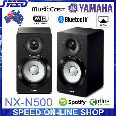 AU799 • Buy Yamaha NX-N500 MusicCast Wireless Bluetooth AirPlay Speakers-BLACK -(Box Opened)