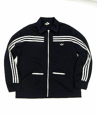 * Vintage Adidas Tracktop Jacket West Germany 70s Track Top • 149£