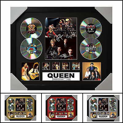AU93.50 • Buy Queen Signed Framed Memorabilia Limited Edition - 2017 - Multiple Variations
