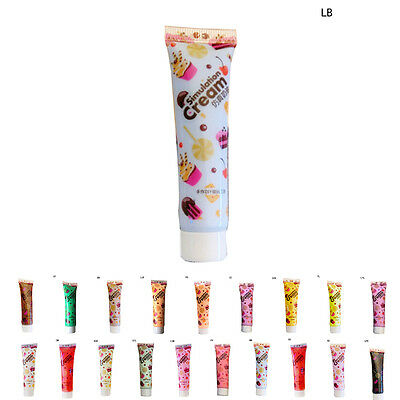 15g Whipped Cream Clay Decoden Kawaii DIY Craft Glue Phone Case Decor Moulding3C • 1.61£