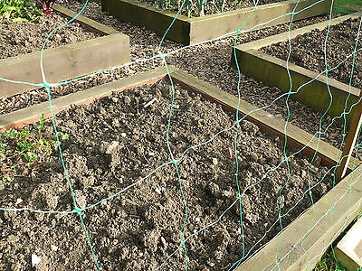 £13.99 • Buy Pea And Bean Plant Support | 2m X 10m | 150mm X 150mm Hole