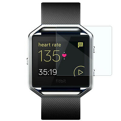 AU2.19 • Buy Slim New Clear TPU Ultra-Thin Screen Protective Film Cover For Fitbit Blaze Lot