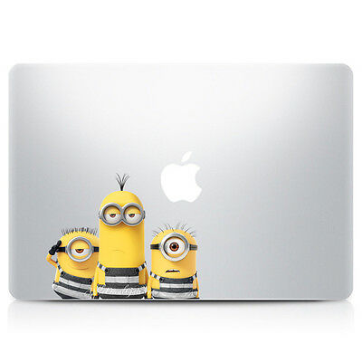 $9.99 • Buy Minion Decal Sticker Skin Stickers For Macbook Pro Air 11 12 13 15 17 In V6 C