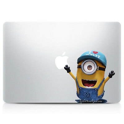 $9.99 • Buy Minion Decal Sticker Skin Stickers For Macbook Pro Air 11 12 13 15 17 In V7 C