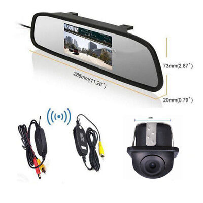 $60.71 • Buy Wireless 360° Front/Sides/Rear Parking Camera +4.3  Color Mirror Display Monitor