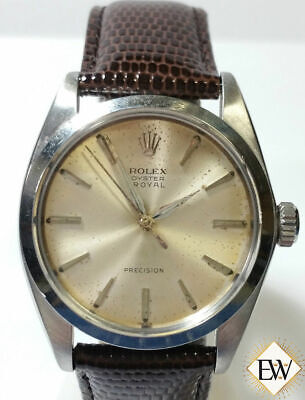$ CDN2672.59 • Buy 1963 Vintage Rolex Oyster Royal Perpetual 6426 Precision Watch Champagne Dial BX