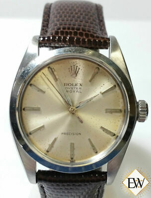 $ CDN2642.89 • Buy 1963 Vintage Rolex Oyster Royal Perpetual 6426 Precision Watch Champagne Dial BX