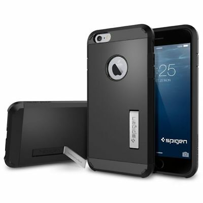 AU39.95 • Buy Spigen Tough Armor Case - To Suit IPhone 6 Plus - Smooth Black