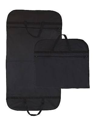£7.29 • Buy Hoesh Waterproof Breathable Cotton Dress Suit Carrier Cover Garment Travel Bags