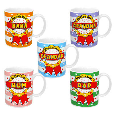 World's Best - Selection Of Tea/Coffee Ceramic Mugs • 5.49£