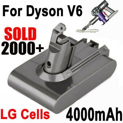 AU32.98 • Buy 4000mAh Battery For Dyson Absolute V6 DC58 DC59 DC61 DC62 D72 DC74 BC683