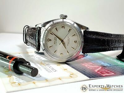 $ CDN3340.74 • Buy Serviced 1954 Vintage Rolex Oyster Perpetual Chronometer Cal 1030 Watch Ref 6581