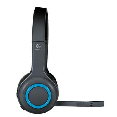 AU159 • Buy Logitech H600 Fordable Noise-cancelling Wireless Computer Headset With USB Re...